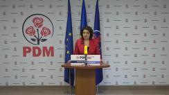 Briefing de presă susținut de Vicepreședinta PDM, Monica Babuc, ex-ministru al Educației, Culturii și Cercetării, de prezentare a propunerilor PDM incluse în Planul de țară MOLDOVA ALTFEL