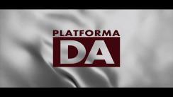 Lansarea în campania electorală pentru alegerile parlamentare anticipate din 11 iulie 2021 a candidaților Platformei DA