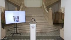 Conferință de presă susținută de Primarul General al Muncipiului București, Nicușor Dan