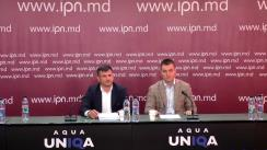 """Conferință de presă susținută de Veaceslav Platon și avocatul său Ion Crețu cu genericul """"Viața după moarte"""""""