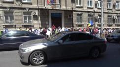 Protest la Comisia Electorală Centrală în vederea deschiderii mai multor secții de vot în diasporă