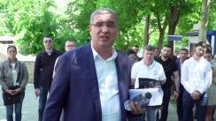 Protest la Curtea de Apel Chișinău organizat de Blocul RENATO USATÎI