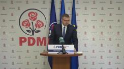 Briefing de presă susținut de membru al Biroului Executiv al PDM, Sergiu Răilean, ex-ministru al Economie și Infrastructurii, de prezentare a viziunii PDM inclusă în Planul de țară MOLDOVA ALTFEL privind dezvoltarea domeniului Economiei