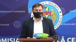 Declarațiile lui Maxim Lebedinschi după ședința Comisiei Electorale Centrale din 7 iunie 2021