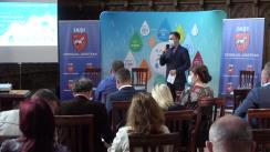 """Eveniment organizat de Consiliul Județean Iași, în parteneriat cu ApaVital, cu tema - """"ApaVital – pilon de creștere a calității vieții"""""""