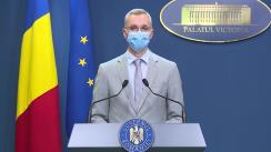 Declarații de presă susținute de premierul României, Florin Cîțu și ministrul Justiției, Stelian Ion