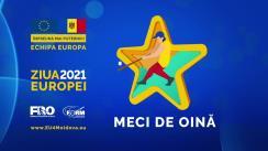 Meci de oină, organizat în cadrul Zilei Europei 2021