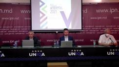 """Conferință de presă organizată de Comunitatea WatchDog.MD și Institutul de Politici Publice cu tema """"Prezentarea rezultatelor unui sondaj de opinie"""""""