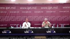 """Conferință de presă susținută de Sergiu Tofilat și Tudor Șoitu cu tema """"Deschiderea dosarului penal pe schema cu importul energiei, cu implicarea lui Dodon și Plahotniuc"""""""