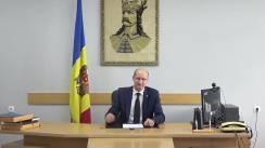 Briefing de presă susținut de Ministrul Agriculturii, Dezvoltării Regionale și Mediului, Ion Perju, privind pagubele înregistrate în sectorul agricol în urma calamitățile naturale din ultimele două luni