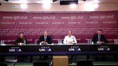 """Conferință de presă organizată de Partidul Schimbării cu tema """"Justiția la comandă ca instrument de răfuială politică"""""""