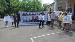 """Flashmob organizat de PAS Youth cu tema """"Hoții la pușcărie"""""""