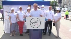 """Lansarea de către PRO Moldova a campaniei de informare Anti-Populism """"Votează cu CAP"""""""