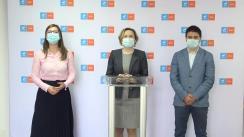 Conferință de presă susținută de USRPLUS Iași, împreună cu secretarul de stat Adrian Covăsnianu, pentru a prezenta stadiul proiectelor de infrastructură din Moldova