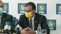 Conferință de presă susținută de Președintele Partidului Național Liberal, Ludovic Orban, la sediul PNL Bacău