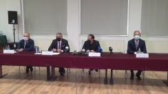 Conferință de presă susținută de Prim-ministrul României, Florin Cîțu la Centrul de Cultură și Artă Sălaj
