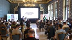 """Deschiderea proiectului """"Soluții Colaborative"""", soluții pentru problemele ieșenilor. Organizat de Asociația Civica, în parteneriat cu Primăria Municipiului Iași"""