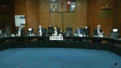 Conferință de presă susținută de Președintele Camerei Deputaților, Ludovic Orban, la sediul Prefecturii Botoșani