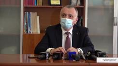 Iași: Declarații de presă ale Ministrului Educației, Mihai Cîmpeanu, în contextul vizitei de lucru desfășurată în județul Iași