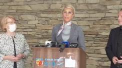 Declarații de presă susținute de Prim-ministrul României, Florin Cîțu în județul Sibiu
