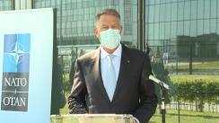 Declarație de presă susținută de Președintele României, Klaus Iohannis, la finalul Summitului NATO de la Bruxelles