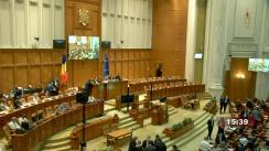 Ședința comună a Camerei Deputaților și Senatului României din 15 iunie 2021