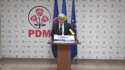 Briefing de presă susținut de Secretarul general al PDM, Alexandru Jizdan, ex-ministru al Afacerilor Interne, privind viziunea PDM a domeniului Afacerilor Interne și Securității Naționale inclusă în Planul de țară MOLDOVA ALTFEL