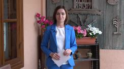Declarație de presă susținută de Președintele Republicii Moldova, Maia Sandu, în timpul vizitei de lucru la Cimișlia