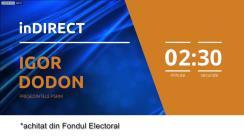 Emisiunea inDIRECT cu Igor Dodon, președintele PSRM. Retransmisiune ziuadeazi.md