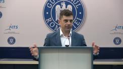 Festivitatea de premiere Gimnastică Aerobică de către Ministrul Tineretului și Sportului, Carol Novak