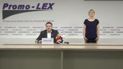Conferința de presă organizată de Asociația Promo-LEX de lansare a Raportului nr. 4 privind Misiunea de Observare a Alegerilor parlamentare anticipate din 11 iulie 2021