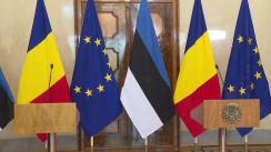 Declarații de presă comune susținute de către Președintele României, Klaus Iohannis, și Președintele Estoniei, Kersti Kaljulaid