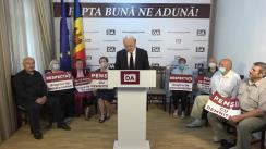 Lansarea angajamentelor Platformei DA privind persoanele în etate