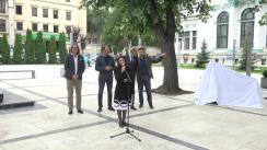 Inaugurarea sculpturii urbane a Veronicăi Micle din Scuarul Mihai Eminescu