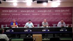 """Conferință de presă susținută de către Organizații teritoriale ale Partidului Democrația Acasă cu tema """"Încălcarea și falsificarea cadrului normativ și legislativ în procesul de promovare a Partidului Democrația Acasă la alegerile parlamentare din 11 iulie 2021 de către Vasile Costiuc"""""""