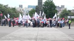 Marșul în susținerea familiei tradiționale