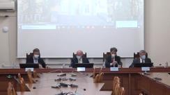 Conferința de presă privind misiunea de suport în evaluarea sistemului de Asistență Medicală de Urgență din Republica Moldova