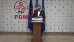 Briefing de presă susținut de ex-ministrul Afacerilor Externe și Integrării Europene, Andrei Galbur, de prezentare a viziunii PDM privind dezvoltarea domeniului Afacerilor Externe inclusă în Planul de țară MOLDOVA ALTFEL