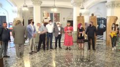 """Expoziția de sculptură """"Sub semnul Unirii"""", de la Palatul Culturii din Iași"""