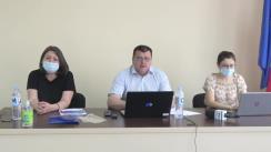 Masa rotundă de prezentare a rezultatelor Raportului de monitorizare a transparenței Administrației Publice Locale (APL) din orașul Căușeni