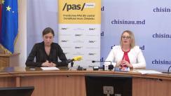 """Conferință de presă organizată de fracțiunea PAS din CMC cu tema """"Încă o grădiniță din Chișinău ar putea să dispară din cauza administrării proaste a primarului Ion Ceban"""""""
