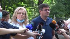"""Declarațiile președintelui Consiliului Județean Iași, după incendiul de la Spitalul """"Sfânta Maria"""" din Iași"""