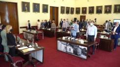 Ședința publică extraordinară a Consiliului Local al Municipiului Iași din 23 iunie 2021