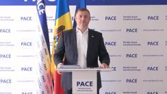 """Briefing de presă susținut de Președintele PACE, Gheorghe Cavcaliuc, despre gruparea """"Usatîi"""""""