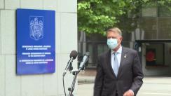 Decalarații de presă susținute de către Președintele României, Klaus Iohannis, la Reprezentanța Permanentă a României pe lângă Uniunea Europeană