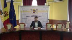 Conferință de presă susținută de Viceprimarul municipiului Chișinău, Victor Chironda