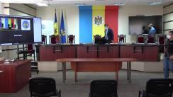 Briefing de presă organizat de Comisia Electorală Centrală privind desfășurarea alegerilor parlamentare anticipate din 11 iulie 2021
