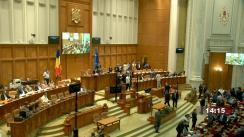 Ședința comună a Camerei Deputaților și Senatului României din 29 iunie 2021