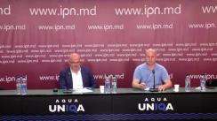 """Conferință de presă organizată de deținutul politic, omul de afaceri Valentin Eșanu, cu tema """"Aniversare tristă. Cerem instituțiilor statului tragerea la răspundere grupul criminal organizat, constituit din procurori, judecători și polițiști, condus Vladimir Plahotniuc, care mi-au fabricat dosarele"""""""