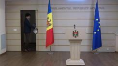 """Conferință de presă susținută de către deputatul PAS, Radu Marian, cu tema """"Risc iminent de fraudare a cetățenilor în cazul unei achiziții publice de 500 milioane lei de la ASP"""""""